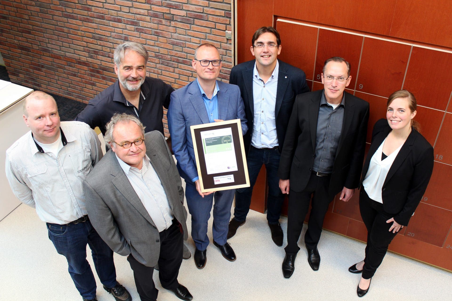 BREEAM-NL voor hoofdkantoor Waterweg Wonen