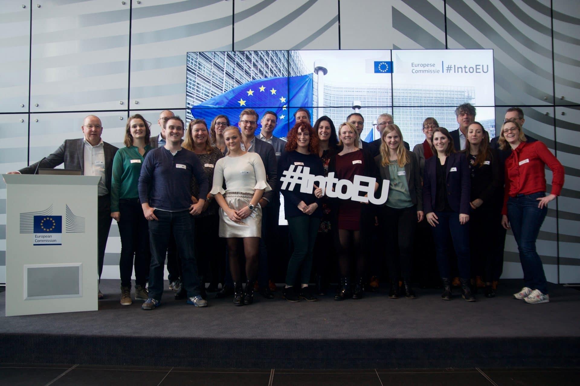Studiebezoek MBA-deelnemers aan de Europese Unie