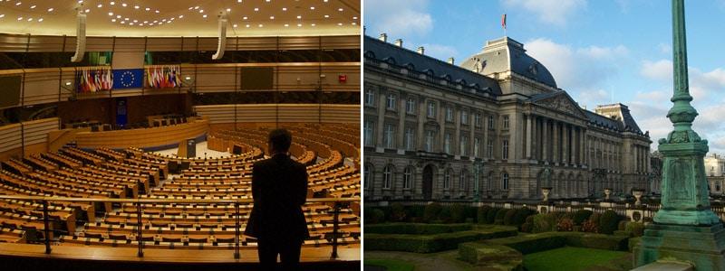 Studiebezoek MBA-deelnemers aan Europese Unie