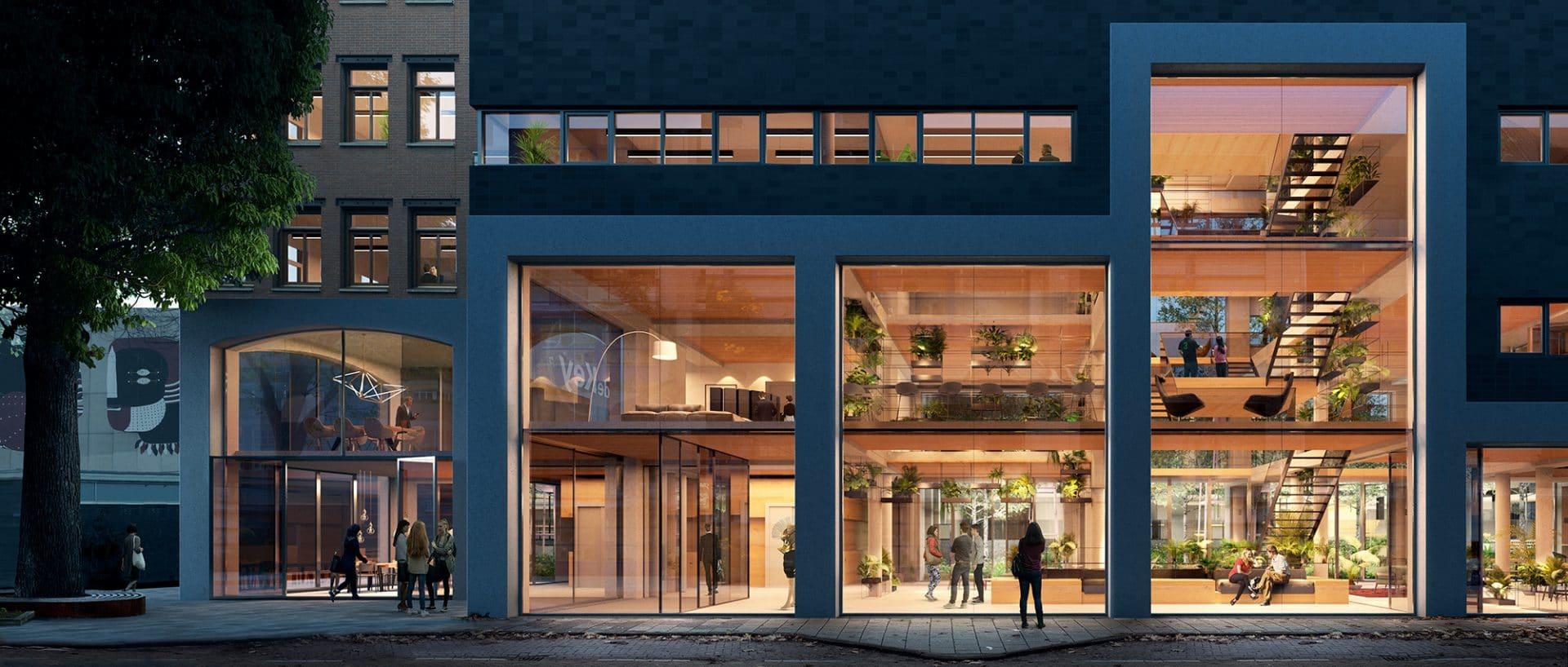 Transformatie hoofdkantoor De Key door Studioninedots