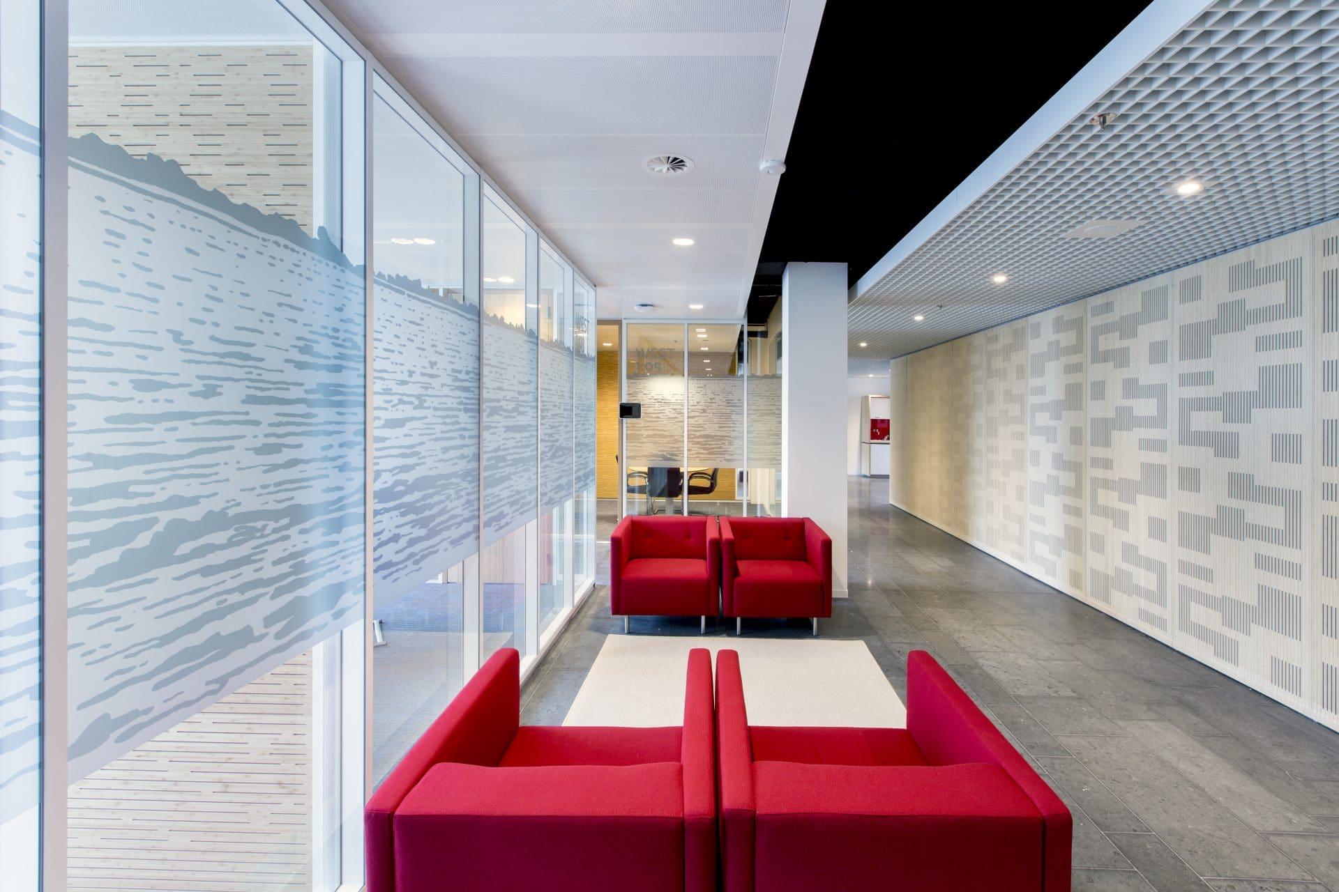 Een comfortabel kantoor maakt werknemers productiever
