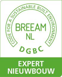 Logo BREEAM-NL Expert Nieuwbouw