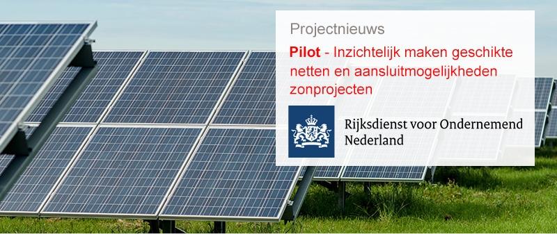 Nieuws Pilot Zonnevelden RVO