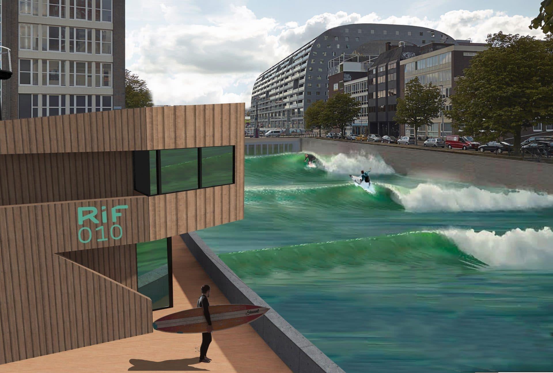 Nieuws Groen licht voor surfattractie RiF010 in Rotterdam