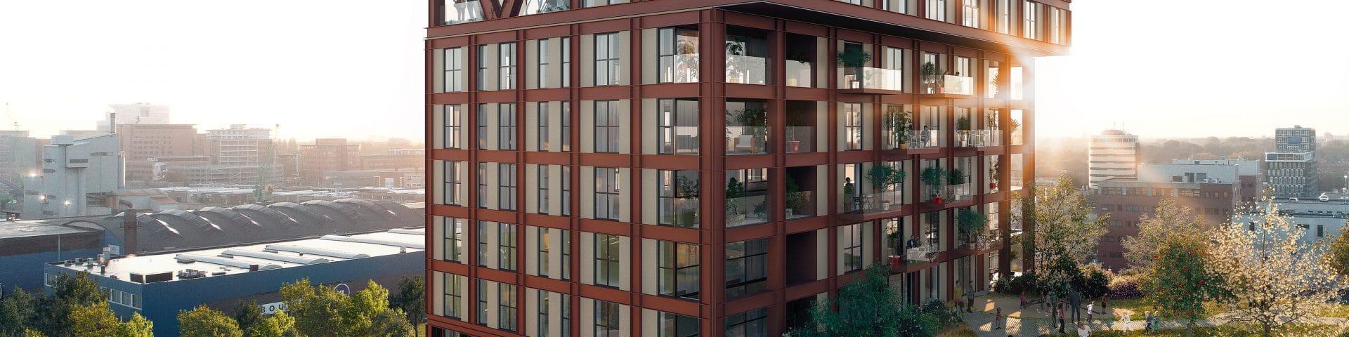 Binckhorst krijgt verticale stadswijk