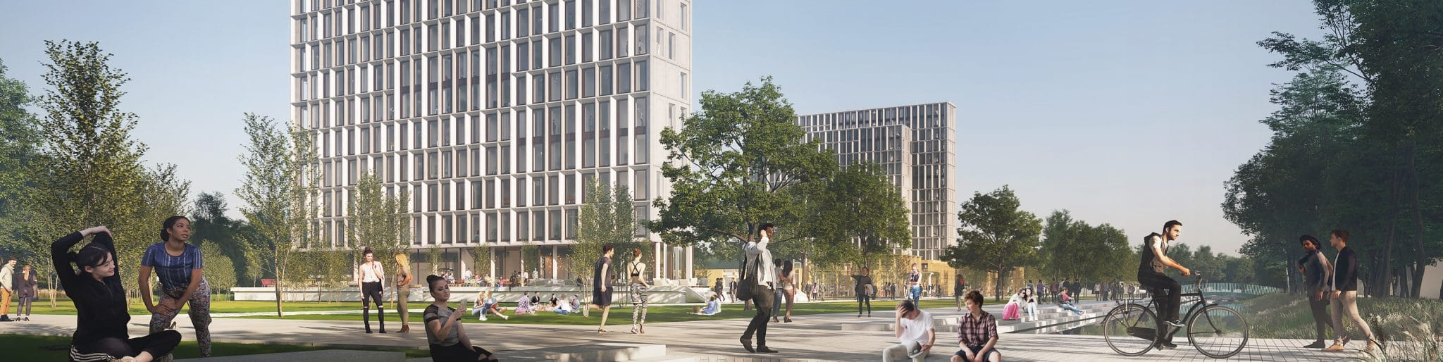 Heijmans bouwt 735 nieuwe studentenwoningen op campus TU/e
